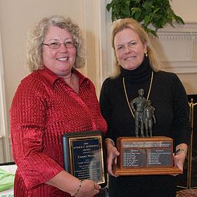 Connie Herzig at the 2008 Fetterman Award ceremony