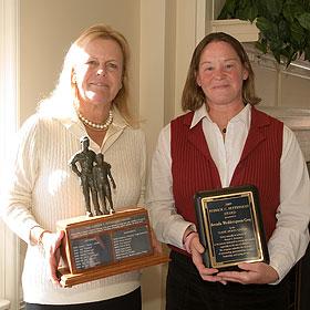 Brenda Wedderspoon-Gray at the 2009 Fetterman Award ceremony