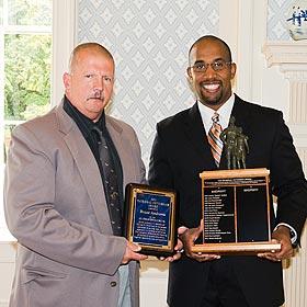 Bruce Andrews at the 2011 Fetterman Award ceremony