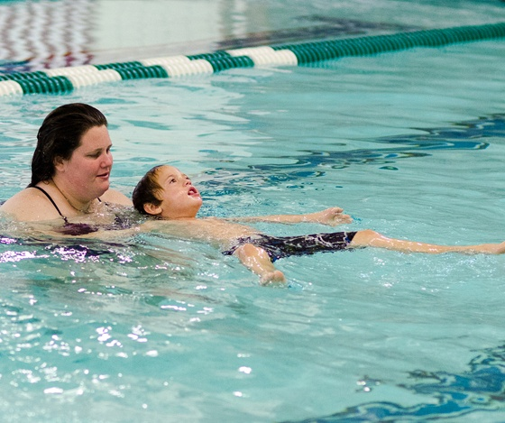 Indoor Swimming Pool Lessons: The Clark Sports Center