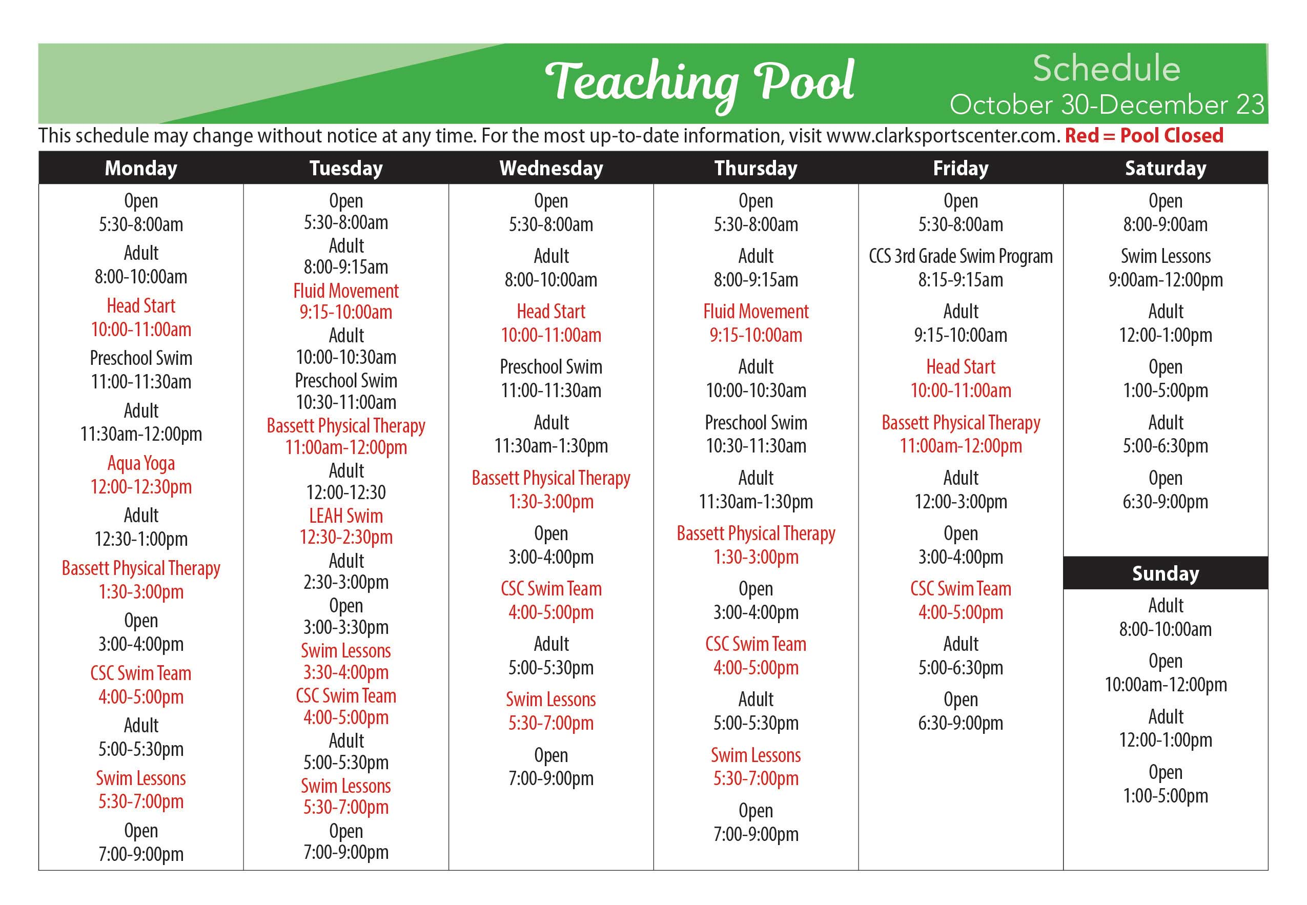 teaching agenda template