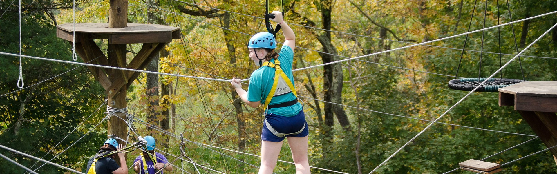 Outdoor Community Ropes Course