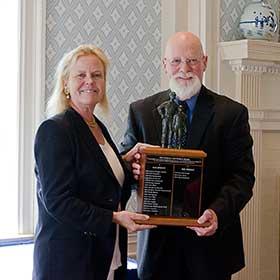 Mark Rathbun at the 2014 Fetterman Award ceremony