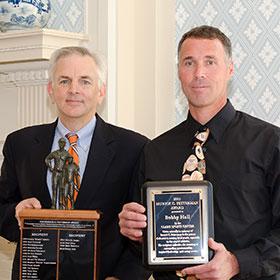 Bobby Hall at the 2015 Fetterman Award ceremony