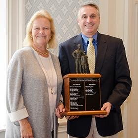 John Lambert at the 2018 Fetterman Award ceremony