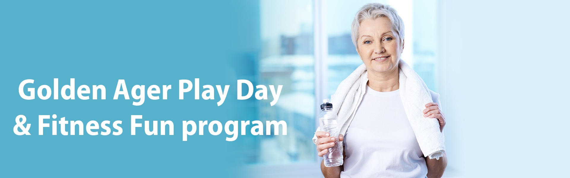 An all new program for seniors (ages 62 and over)!